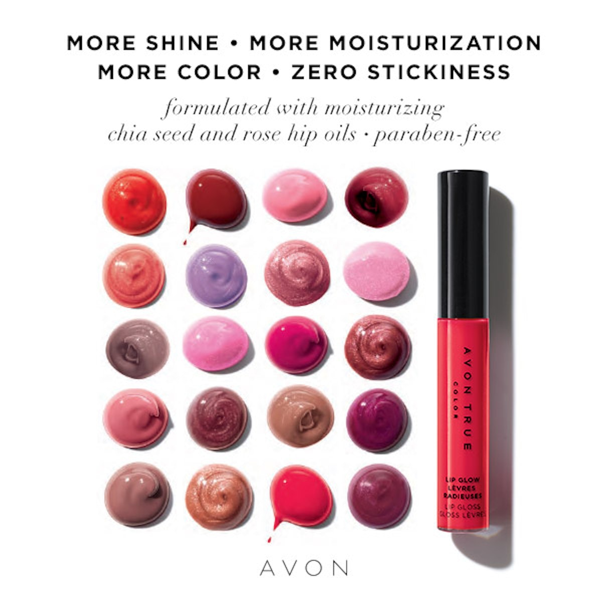 Avon True Color Make Up Guide Fallwinter 20182019 Journey Of An